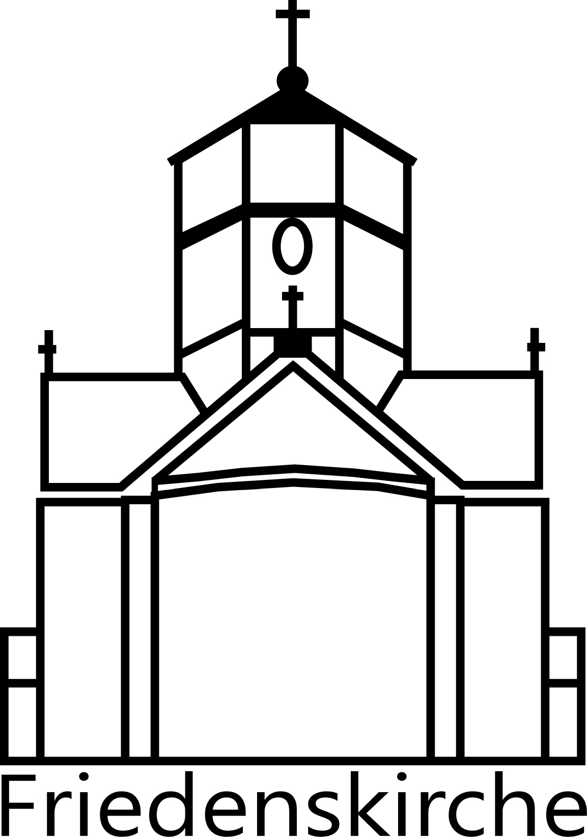 Wortbildmarke-Friedenskirche