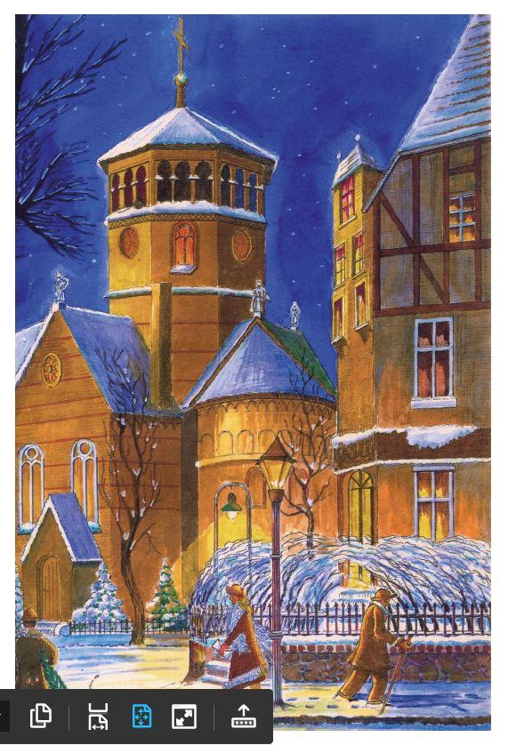 Weihnachtskarte - nsh - Mudra